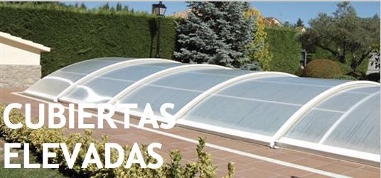 Venta o instalacion de cubiertas para piscinas en granada for Piscinas cubiertas granada