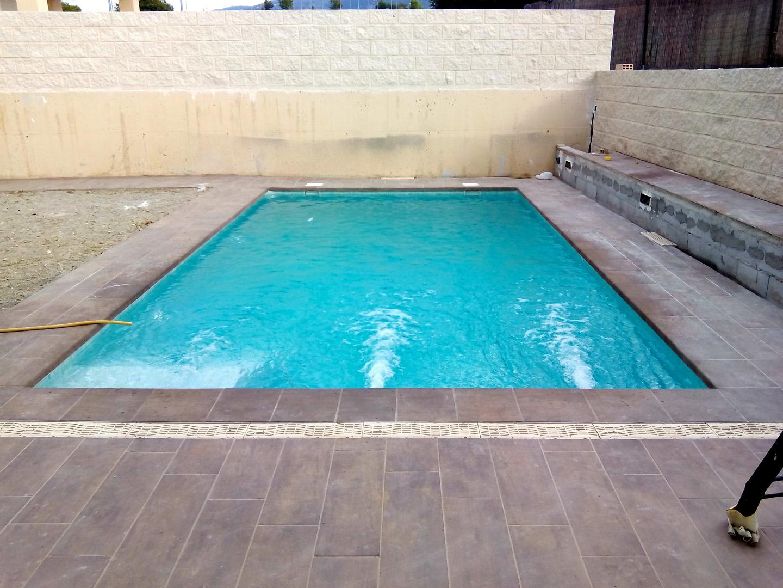 Proyecto de piscina para santa clara golf en granada for Proyecto de piscina