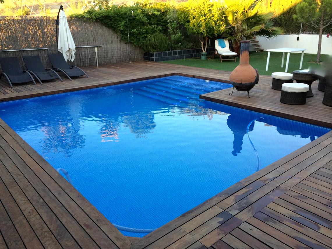 Empresa de construcci n de piscinas de hormig n en jaen for Costo de construir una piscina