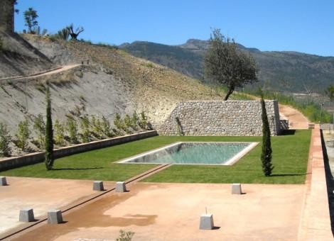 Trabajo realizado por constructora de piscinas en Granada