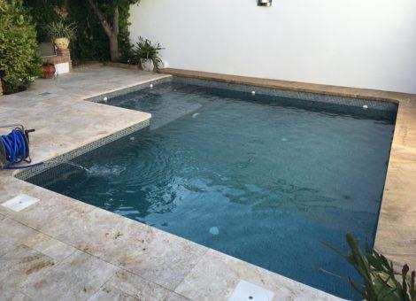 piscina de obra realizada en Granada por Arromel