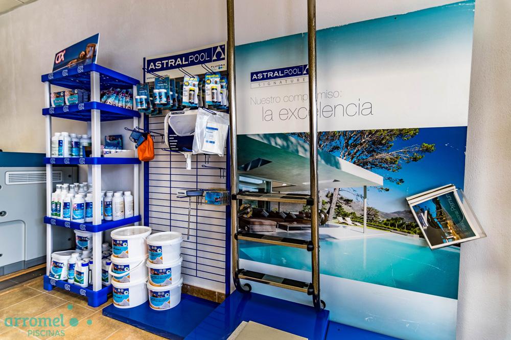 Arromel Piscinas es oficial Partner de AstralPool en Granada
