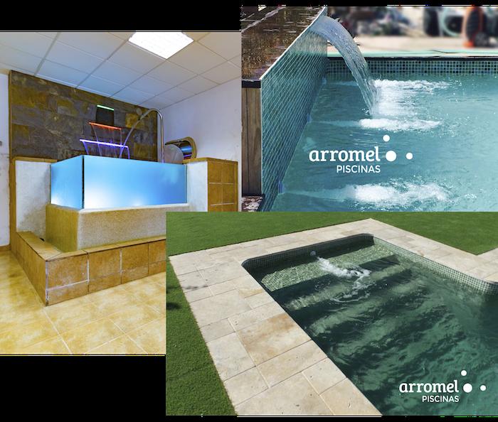 Innovación en piscinas de Arromel Piscinas Granada