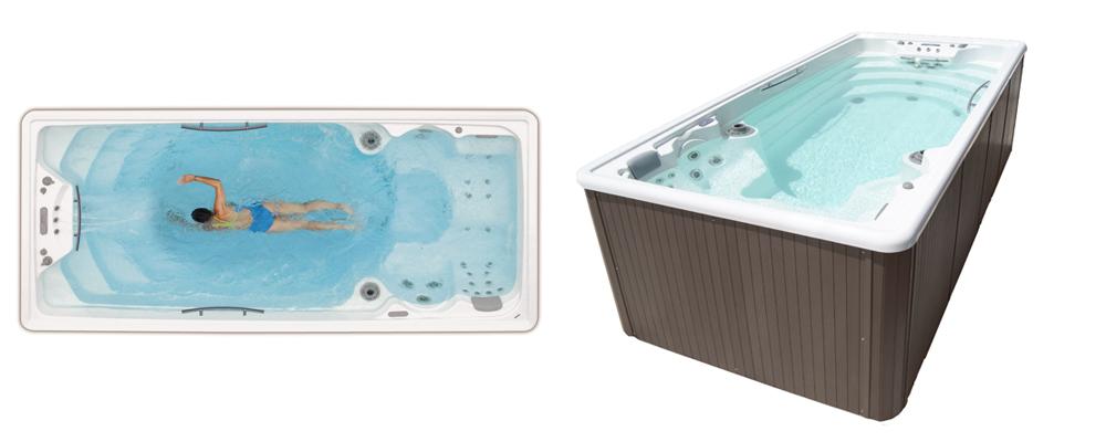 Swimspa o mini piscinas de nado a contracorriente en Granada